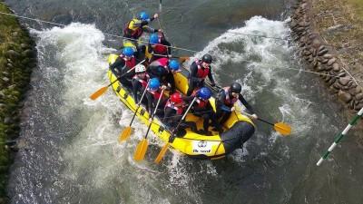 rafting integracja dla firm